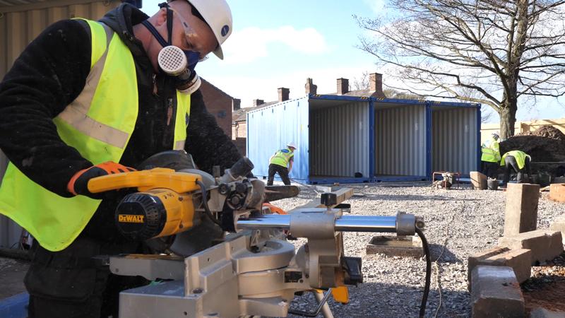 Lodge Lane Container Park making rapid progress